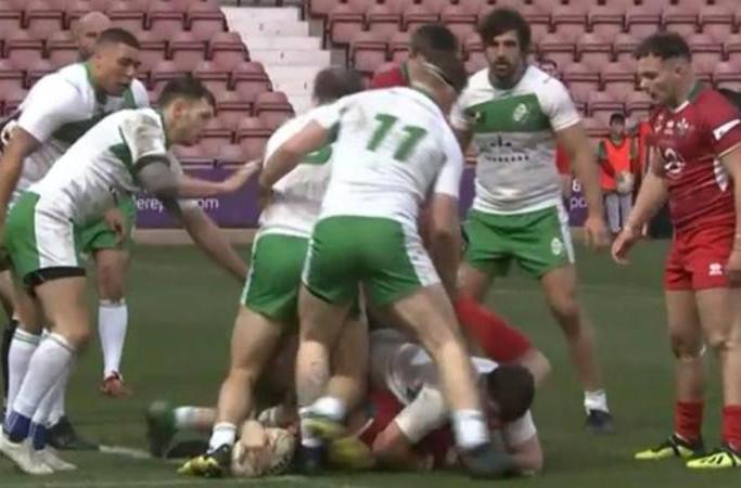 Wales 40 - 8 Ireland
