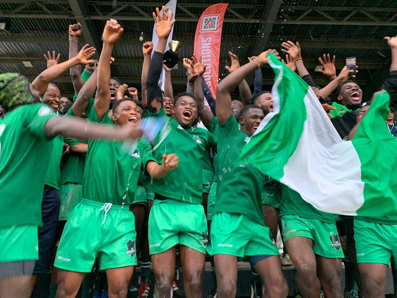 Nigeria 38 - 10 Morocco