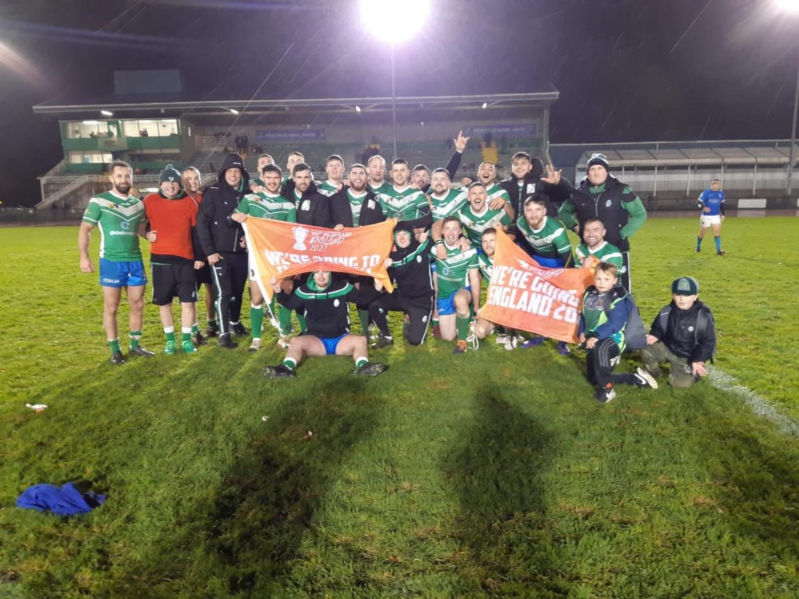 Ireland 25 - 4 Italy